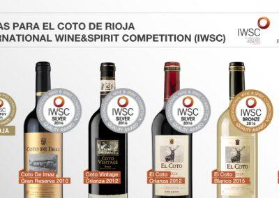 Gabinete de prensa: El Coto de Rioja nota de prensa
