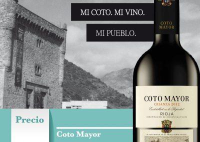 Promocion Horeca Coto Mayor Tinto
