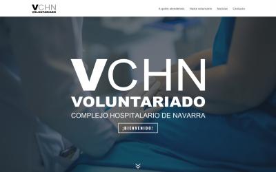 Web Voluntariado Complejo Hospitalario de Navarra
